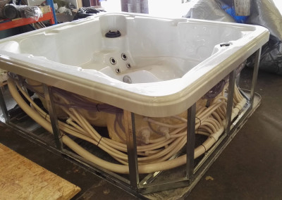 spas hot tub manufacture factory in czech EU